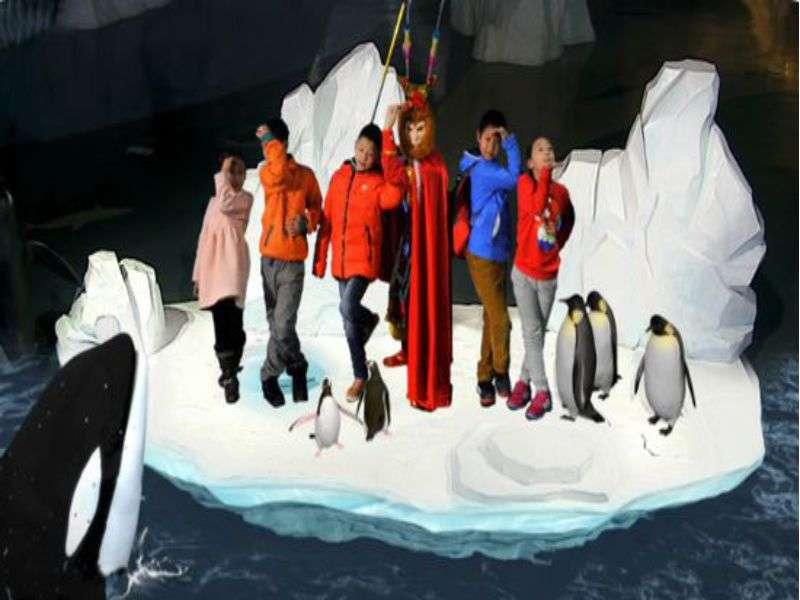 AR极地世界
