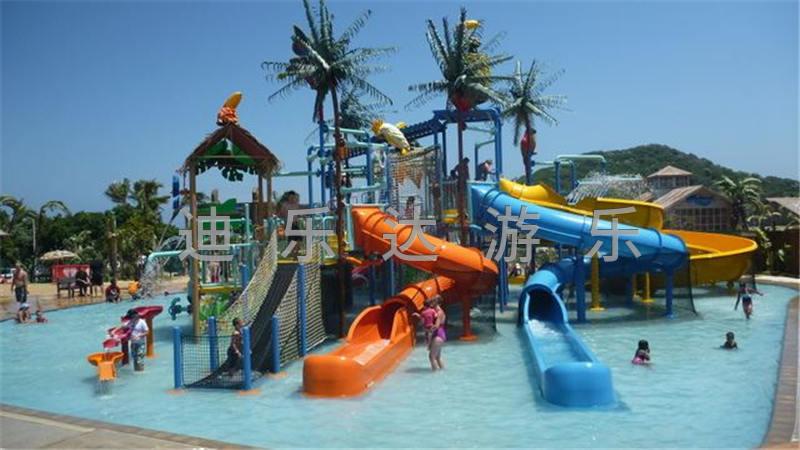 儿童互动水屋水寨3
